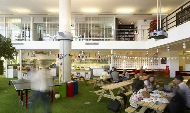 Innocent: Innocent moved into the whole of the Canal Building at Portobello Dock in April class=