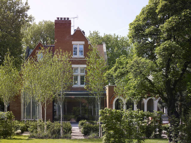 The Old Vicarage: This project involved the conversion of a large detatched victorian vicarage into a family home. The clients aspirations to preserve the gothic character and history of the building twinned with the introduction of crisp modernist interiors was achieved with subtlety and attention to detail. Photo: Kilian OSullivan