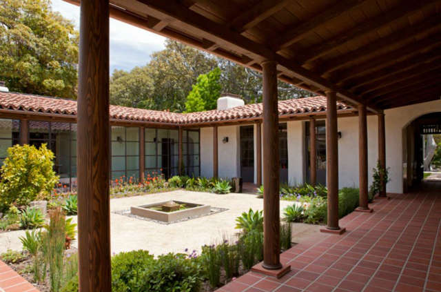 Central Courtyard and Patio Space