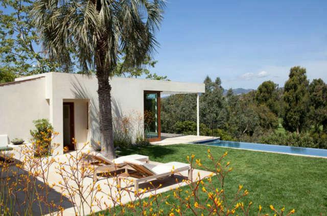 La Mesa Pool and Pool House