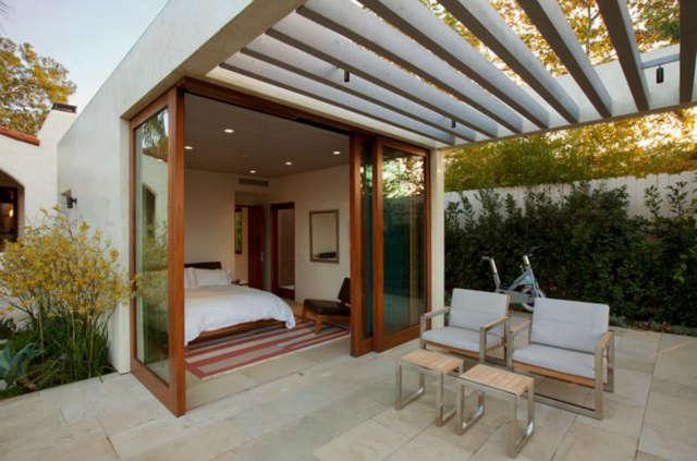 La Mesa Guest House Patio &#8class=