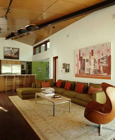 Mandeville House- Living Room