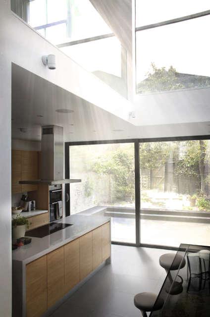 Hackett Holland Ltd Modern Kitchen and Atrium Space