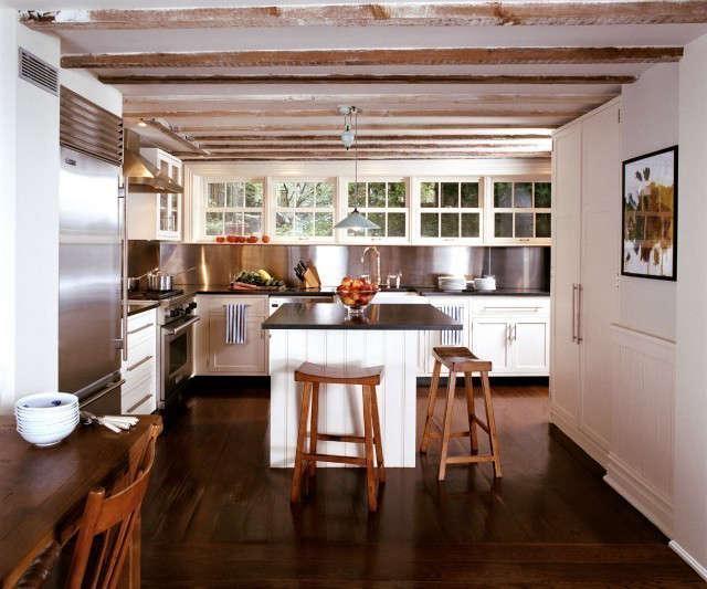 garden level townhouse kitchen photo: karen cipola 9