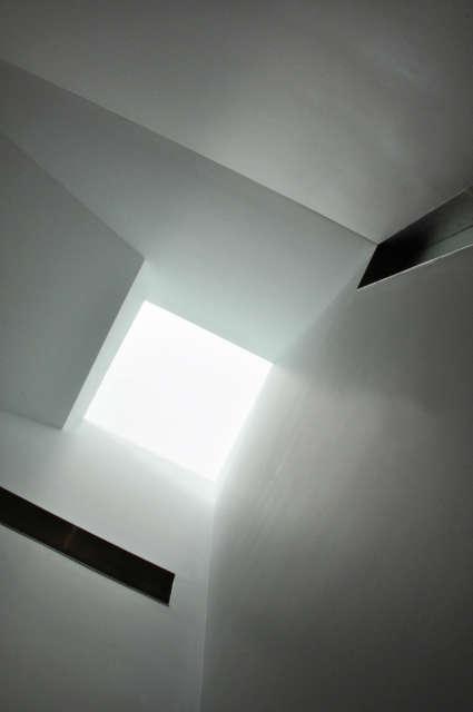 Leone Design Studio Brooklyn Heights Townhouse: skylight Photo: Jennifer Leone
