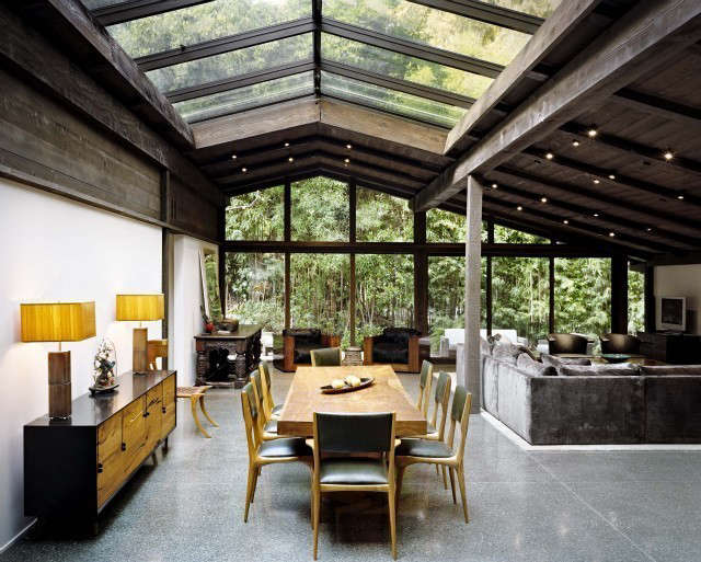experimental ranch: designed by architect cliff may as his personal residence,  10