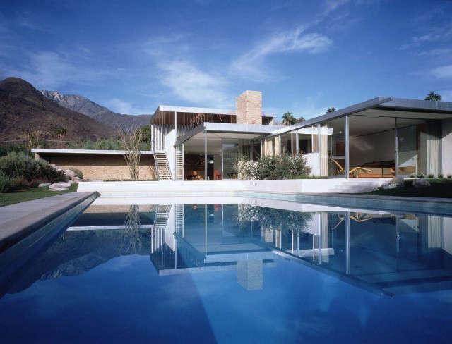 kaufmann residence: located in palm springs, california, the kaufmann house was 12
