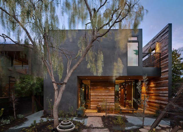 s and s residence: the s & s residence was designed for a young family in v 13