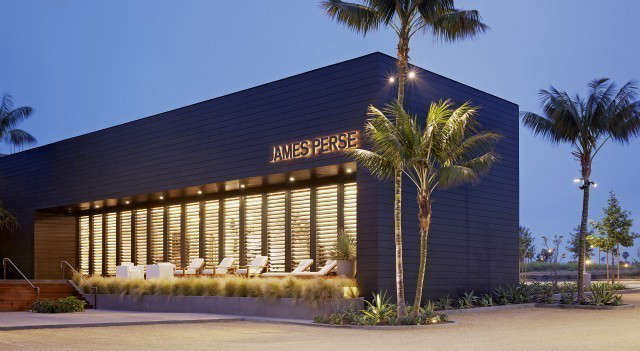 james perse malibu: originally the timber storage warehouse on the site, the ja 17