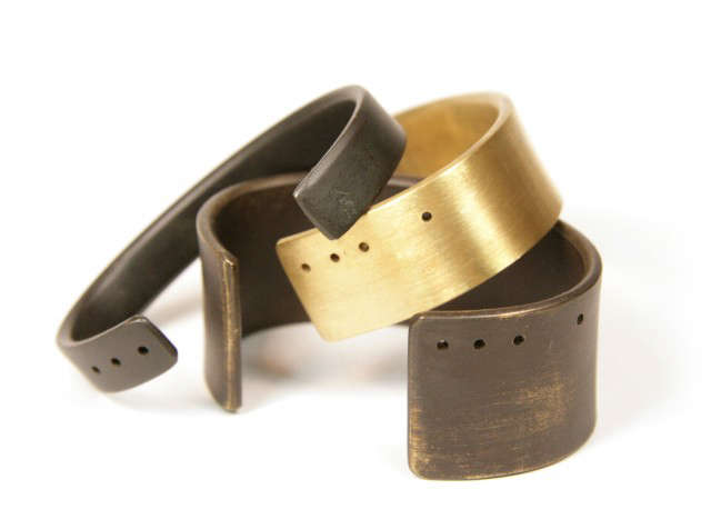 marmol radziner jewelry: wearable architecture—a handcrafted line of jewelry  21