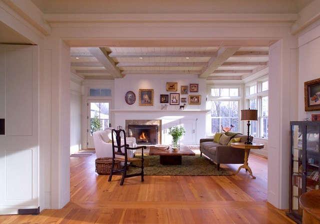 Albertsson Hansen Architecture Cannon River Residence &#8\2\1\1; Great Room: Great room at Cannon River Residence Photo: Dana Wheelock