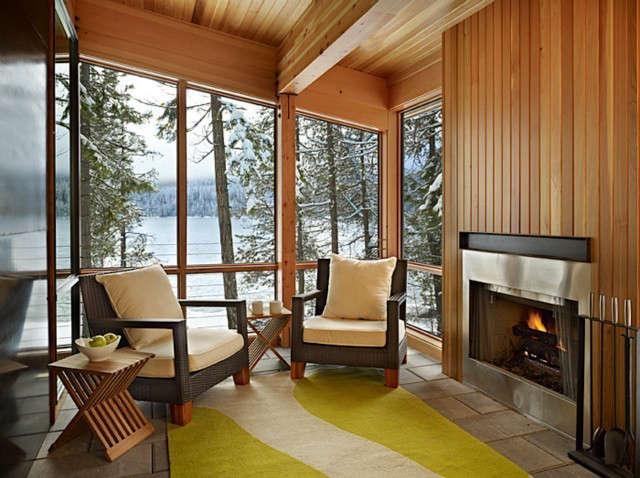 north lake wenatchee cabin porch photo: ben benschneider 26