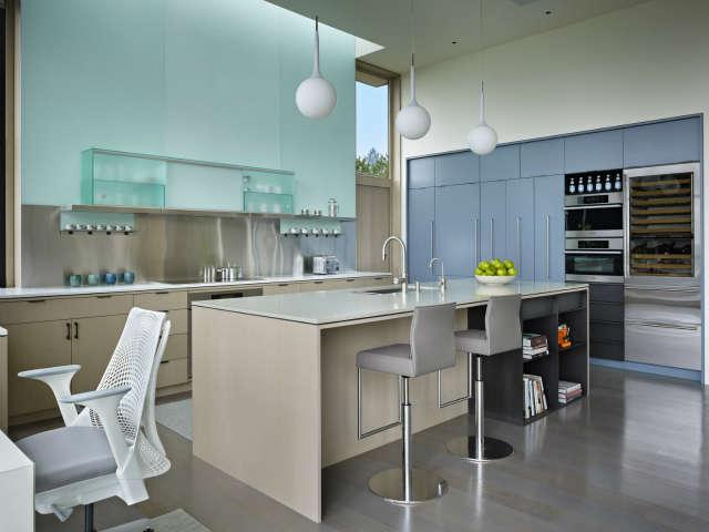 hillside modern kitchen 42
