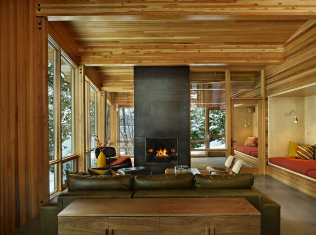 north lake wenatchee cabin living & dining: rustic. modern. cozy. sophistic 25