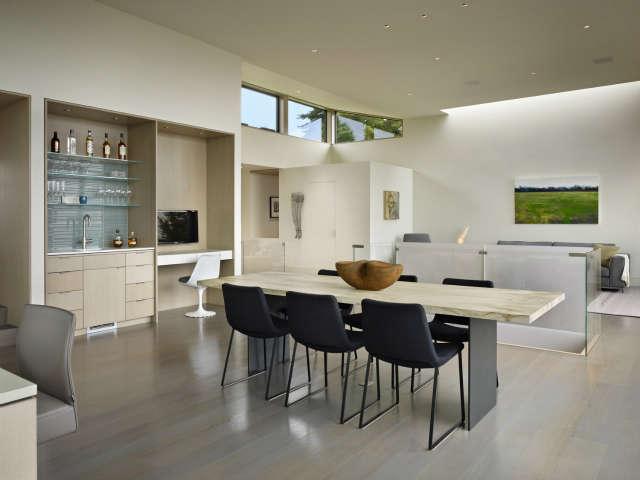 hillside modern dining room 39