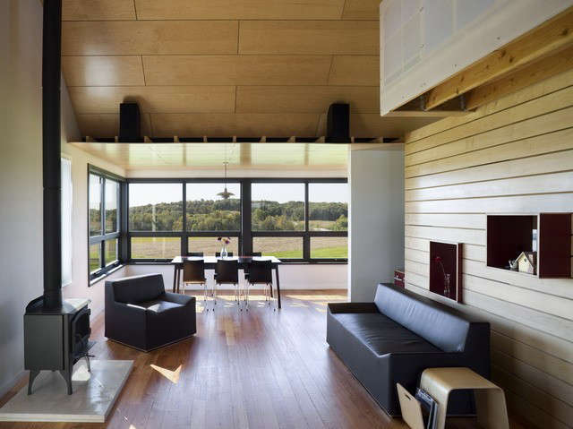 yum yum farm living room, wellman iowa: featured in dwell magazine&#8\2\17; 29