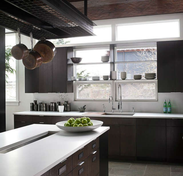 art house kitchen: da+ transformed this existing lakeside residence from a hous 33