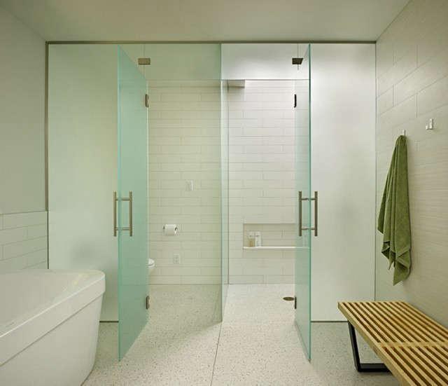 lakewood mid century master bathroom 10