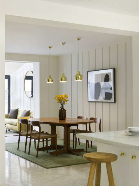 Notting Hill home: Gut renovation of a period home within Notting Hills conservation zone, including complete architectural package, interior design and landscaping Photo: Chris Tubbs
