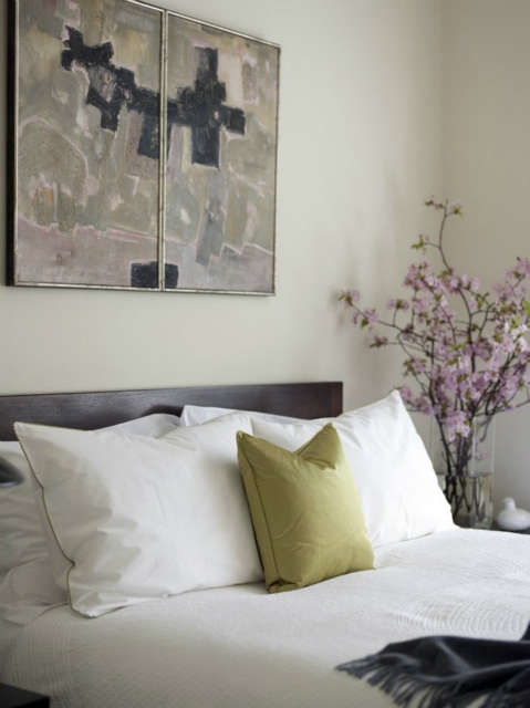 Notting Hill home: Master bedroom Photo: Charis Tubbs