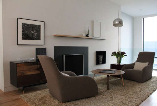 Brooklyn Townhouse Living room: Architecture: Rogers Marvel Architects