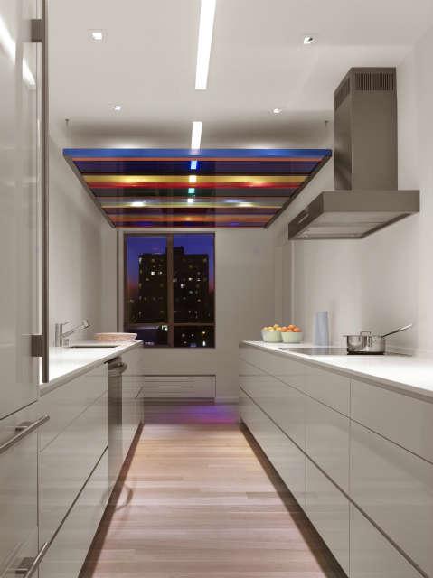 Nob Hill Pied-a-terre: Kitchen Photo: Caesar Rubio