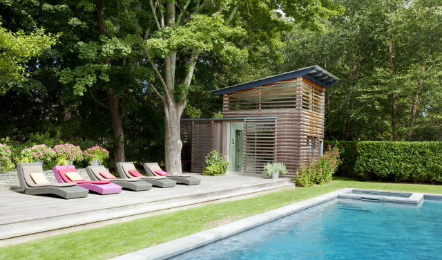 Hamptons Pool House