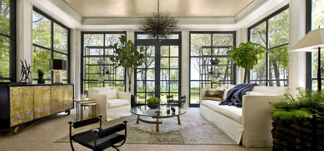Lake Forest Showhouse: Solarium