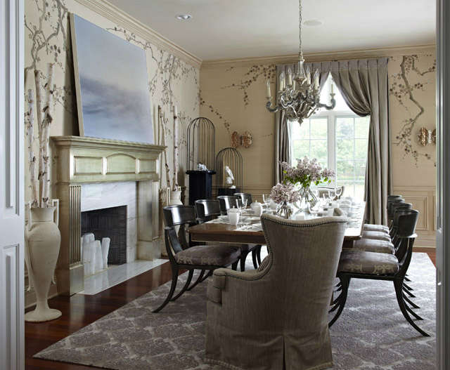 Lake Forest Estate: Dining Room