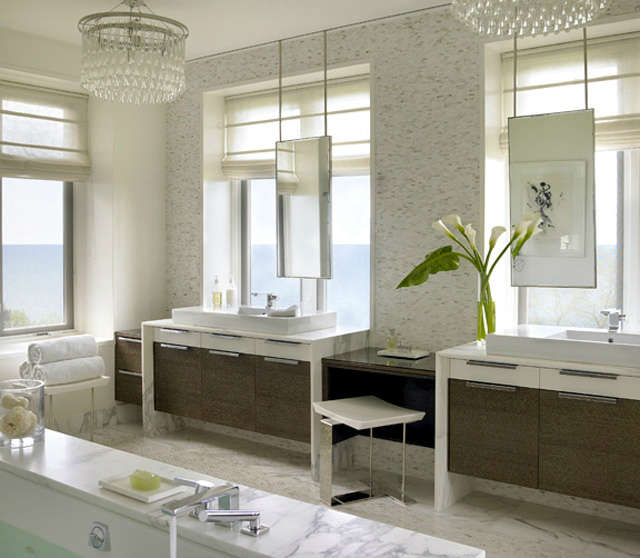 Lake Shore Estate: Master Bathroom