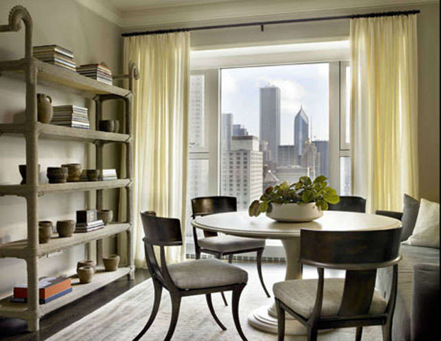 Michigan Avenue Residence: Breakfast Nook