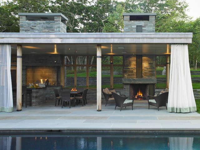 Bath House and Pool Pavilion &#8class=