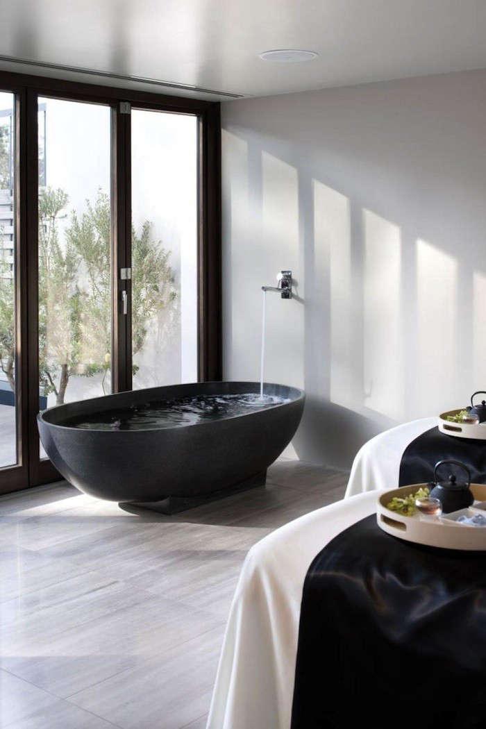 Dark Water 10 Modern Black Bathtubs portrait 6