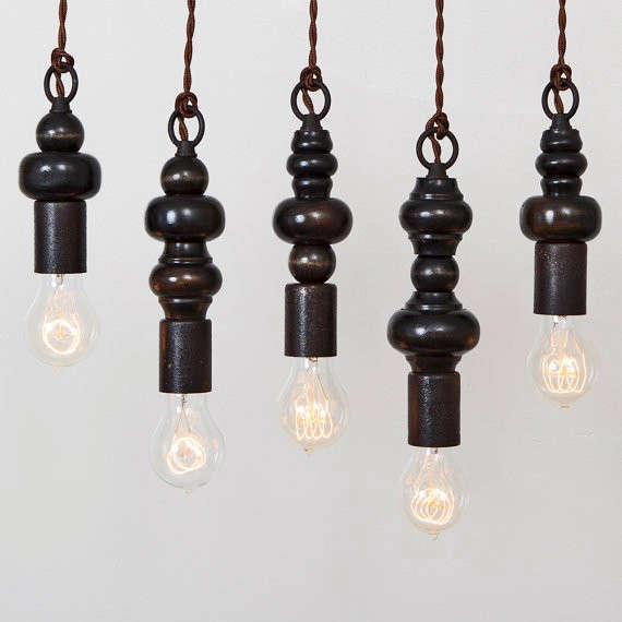 5 Favorites Sculptural Wood Pendant Lights portrait 4