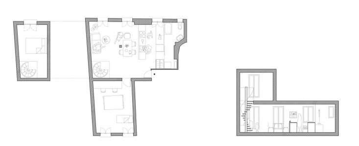 *Septembre Paris apartment plan Remodelista