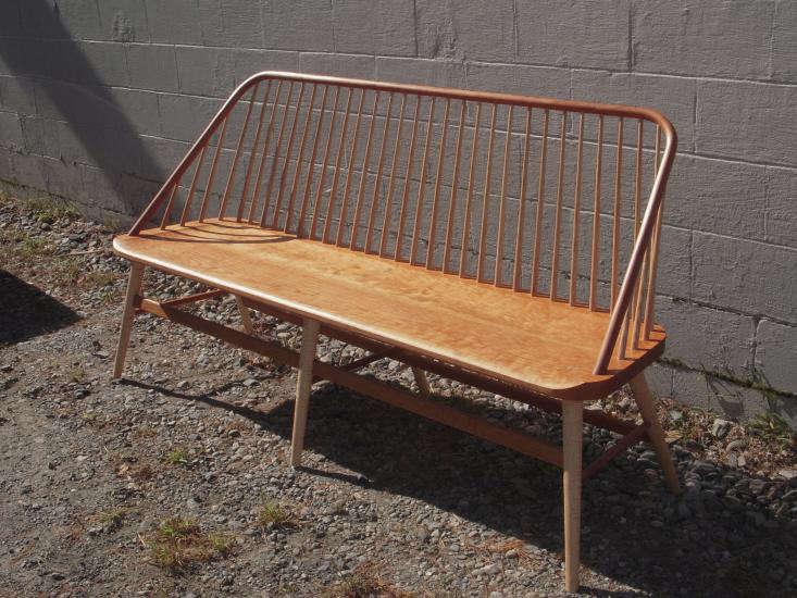 6 foot bowback bench 1