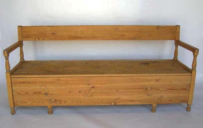 700 antique swedish bench 01 22