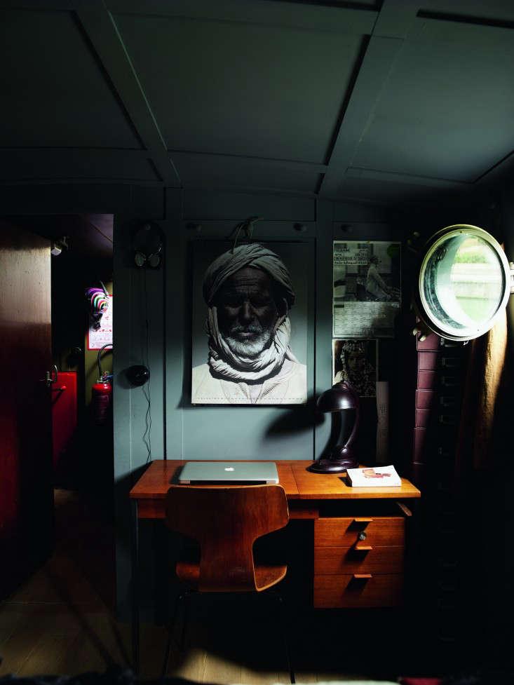 74r Valerie Mazerat houseboat Richard Powers Thames & Hudson Remodelista