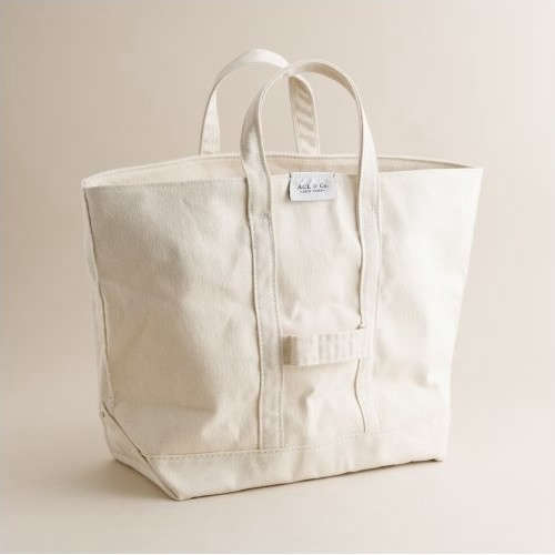 Object Lessons The Classic Canvas Tote portrait 7
