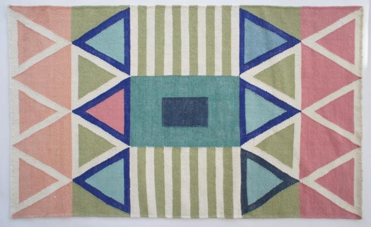 Geometry Prize Aelfies Modern Dhurries portrait 5