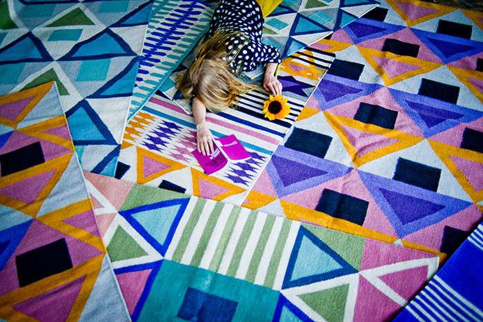 Geometry Prize Aelfies Modern Dhurries portrait 3