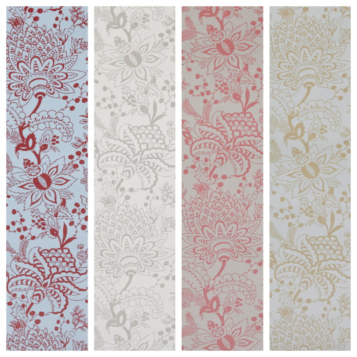 Pattern Play Wallpaper Textiles and Tiles by Akin amp Suri portrait 11