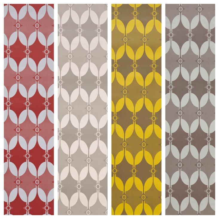 Pattern Play Wallpaper Textiles and Tiles by Akin amp Suri portrait 7