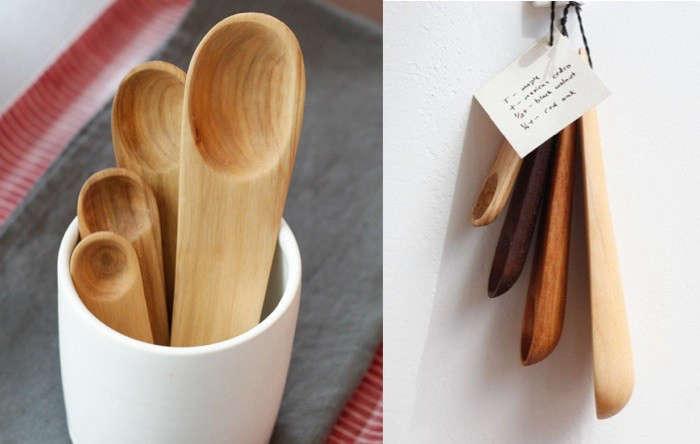 5 Favorites Wooden Measuring Spoons portrait 3