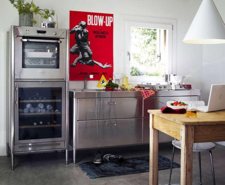 Alpes Inox stainless steel kitchen appliance Remodelista