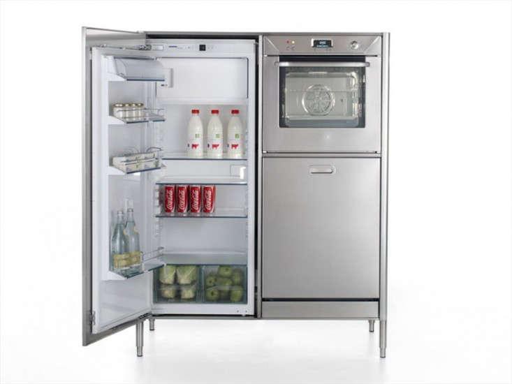 Alpes Inox washing cooking fridge column2 via Remodelista