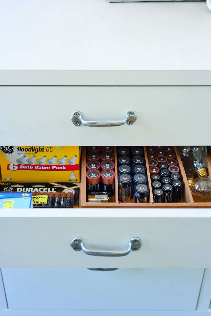 keep plenty of fresh batteries on hand and organized in one place so you always 12