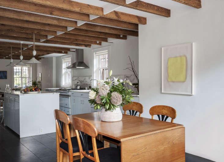 Annabelle Selldorf Brooklyn kitchen renovation Danish dining table Remodlista