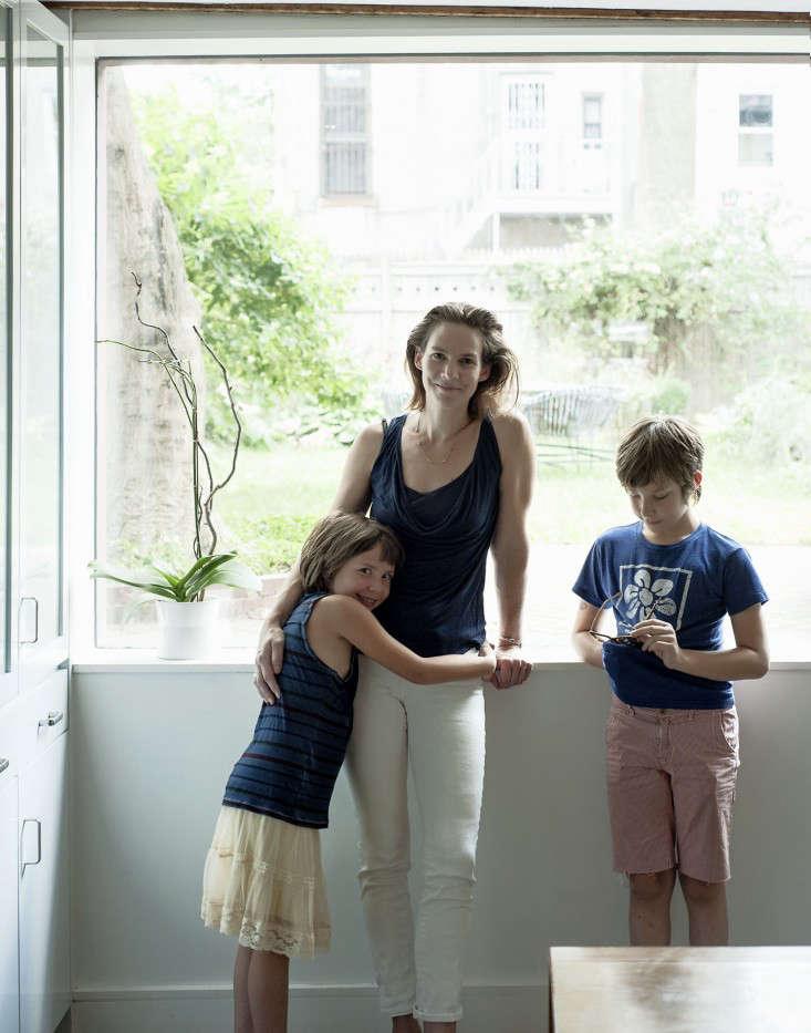 Annabelle Selldorf Brooklyn kitchen renovation artist Julia von Eichel and kids Remodelista