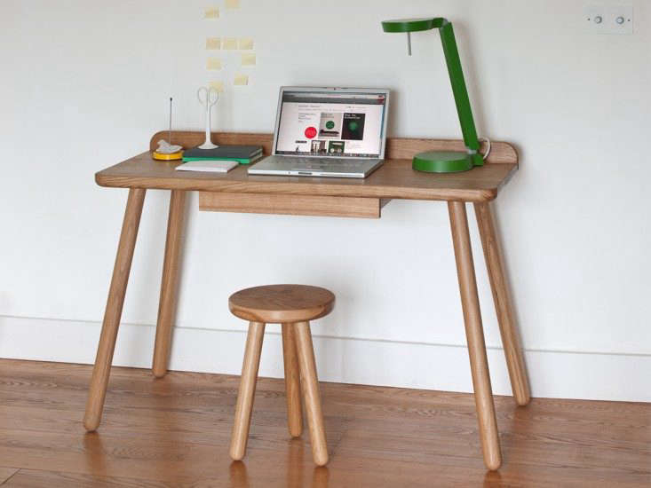 A kid-size laptop desk; for more, see Easy Pieces: Desks for Small Spaces.